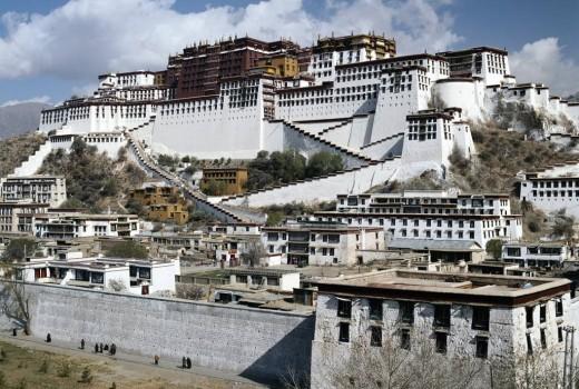 西藏拉萨布达拉宫导游词