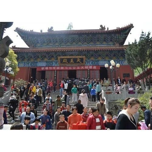 河南省灵山风景旅游开发有限公司:弘扬民俗文化 展示豫楚风情