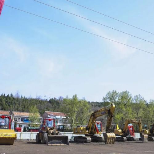 皇城相府游客接待中心及配套设施建设项目开工仪式隆重举行!