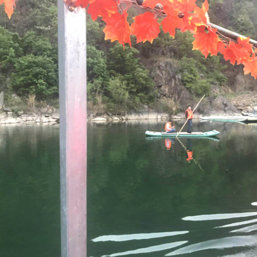 中原不可多得休闲度假的好去处:石门湖风景区