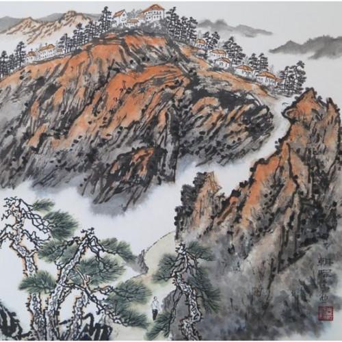 《鸡公山百景图》国画展将在信阳市博物馆开展