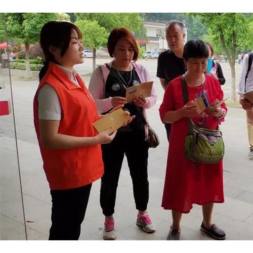 """灵山风景区开展""""中国旅游日""""志愿服务活动"""