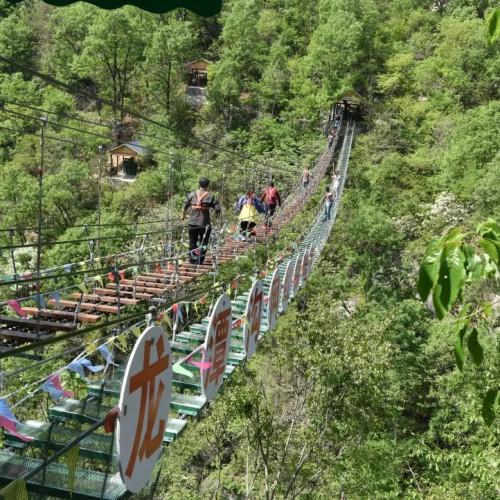 西峡龙潭沟:六月掀起一个又一个旅游高潮