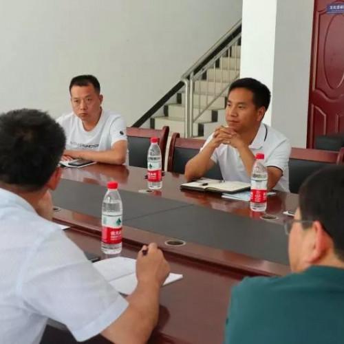 县委常委、宣传部长王宜阳一行调研青要山景区