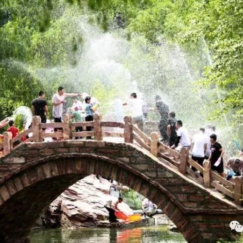 云梦山第十二届泼水节即将开幕