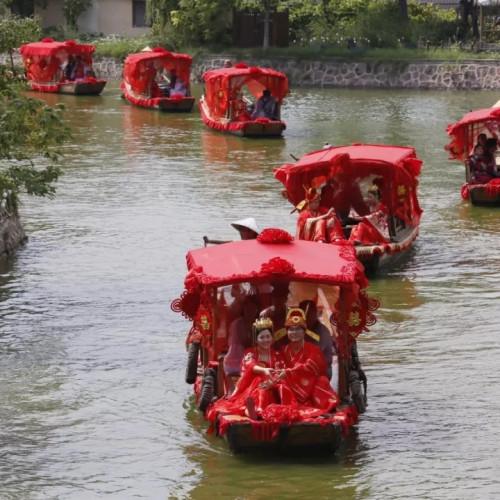七夕情人节,开封清明上河园邀你一起穿越千年以前