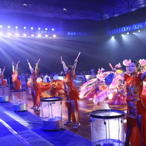 """首届中传阳城""""皇城相府杯""""WDC世界国际标准舞巡回赛暨全国青少年舞蹈教育成果大赛开赛"""