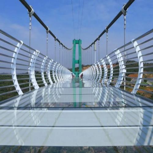 相府庄园玻璃天桥,感受心跳加速的感觉
