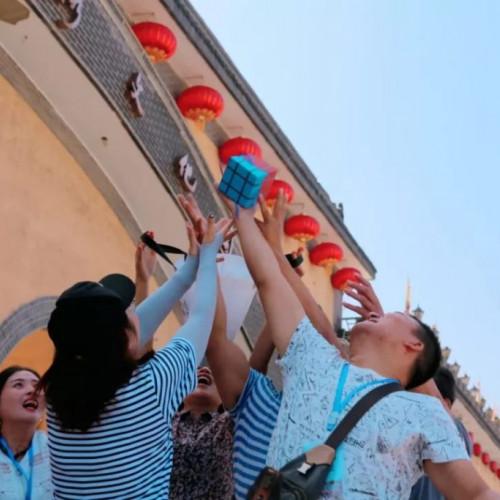 飞跃奇迹 · 寻梦地坑院,2019陕州地坑院无人机竞速技巧大赛开赛