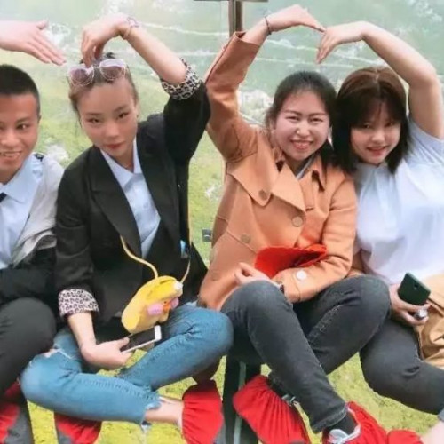 珏山首届玻璃栈道抖音大赛9月9日正式开赛!
