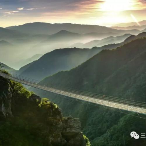 满山云锦,这是属于三联峒秋的季节