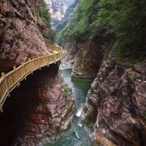 户外亲子活动旅游目的地—洛阳青要山,给您更好的游览体验