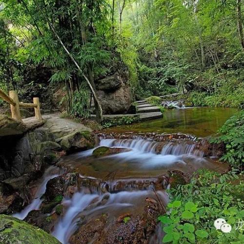 十一假期去龙潭河感受世界的美好与斑斓