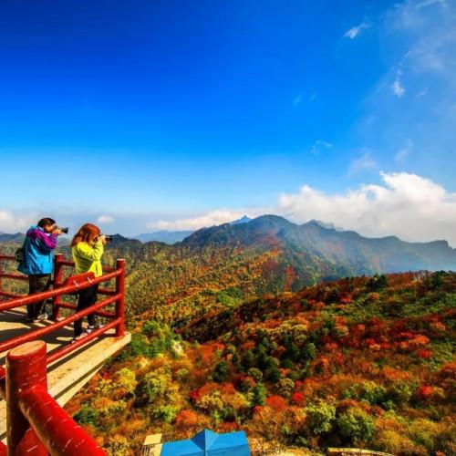 龙峪湾重阳节千人徒步登山赛明日开赛