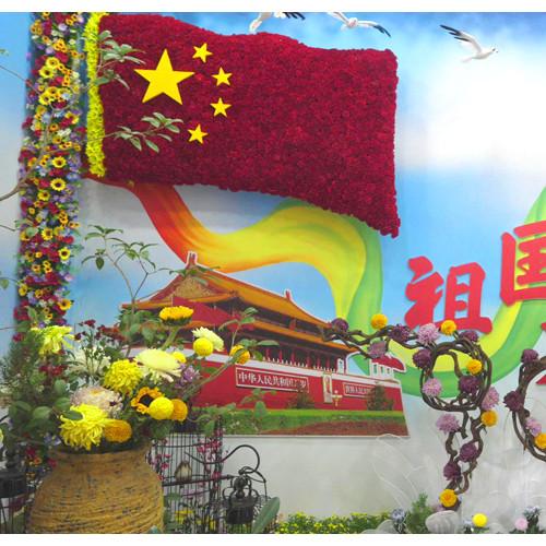 中国开封第八届国际菊花展在清明上河园盛大开幕