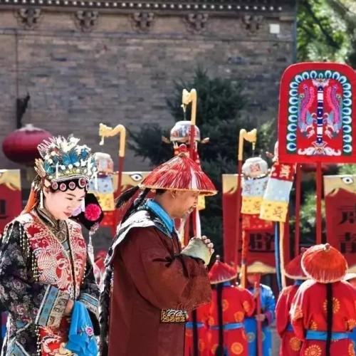 11月1日起,皇城相府迎圣驾表演改为每天上午10:00整!
