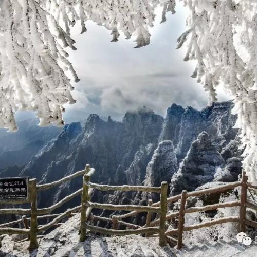 2019年末,快来白石山奔赴一场冬日之约
