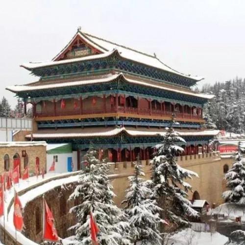 在这个古堡的冬天,来皇城相府尽情赏雪吧