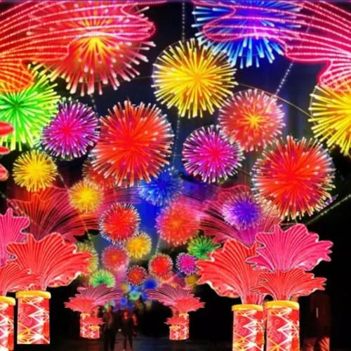 2020陕州灯会,让你感受到新年的喜悦与激情