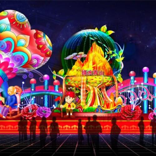 2020陕州灯会,继续带你来探秘