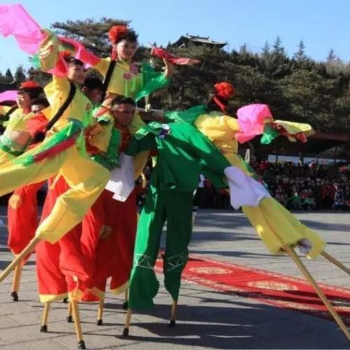 晋城市文化和旅游局举行春节民俗旅游推介会