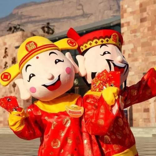东太行景区一年一度盛大的春节活动即将开场