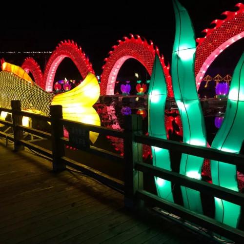 与亲朋好友,家人爱人一起相约南湾湖浪漫灯展