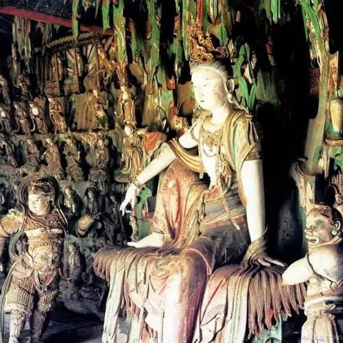 全国韦驮之冠—平遥双林寺韦驮护法天尊塑像