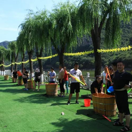 在九女仙湖玩水就是这么酷, 绝对让你high爆这个夏天