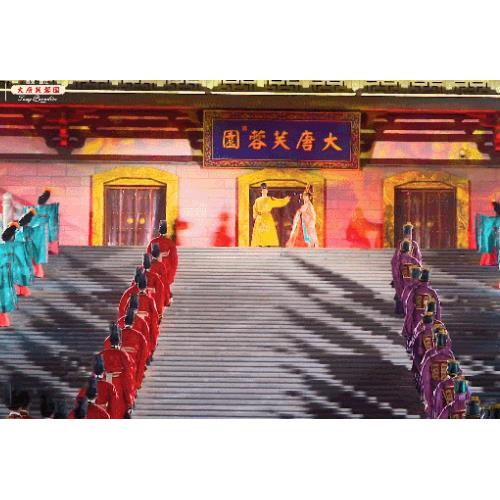 希望每一位游客都能在大唐芙蓉园留下一段美好的旅途回忆