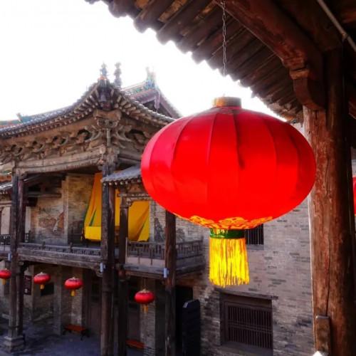 郭峪古城带着历史的沧桑走来
