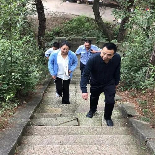 """信阳灵山风景区开展""""十一黄金周""""节前安全大检查"""