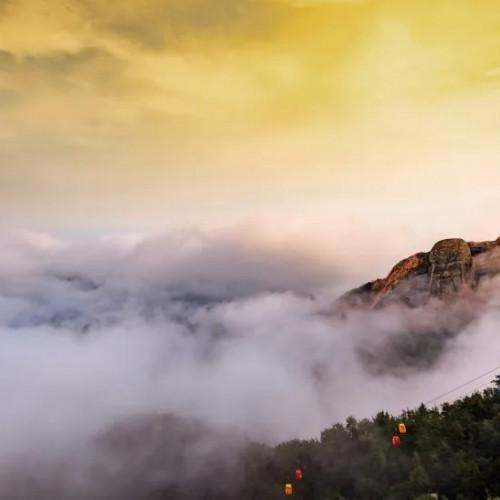 陪你一起欢度国庆、共圆中秋,这个假期我在蒙山等你