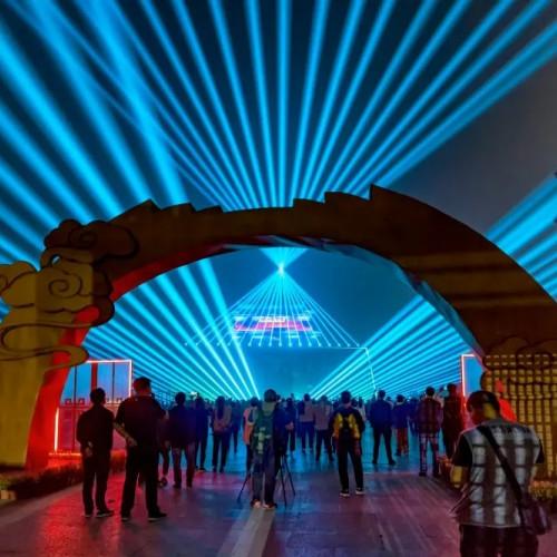 山海关景区推出观·山海—大型长城情境光影秀市民特惠活动