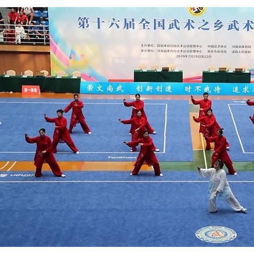 """陈家沟太极文化旅游区入选""""2020中华体育文化优秀项目""""河南唯一十佳景区"""
