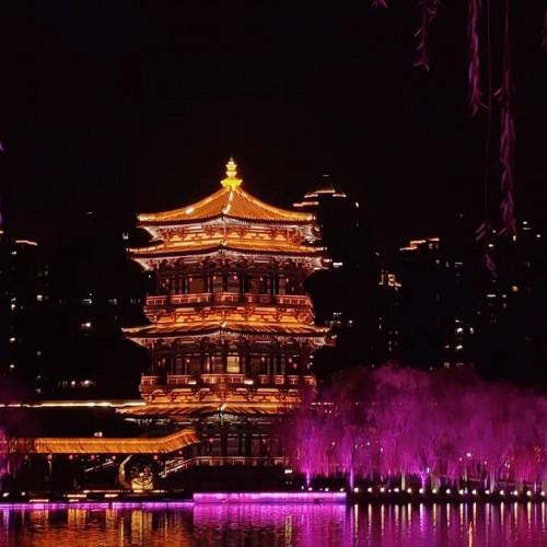 2021丝路嘉年华·丝路云春晚将在大唐芙蓉园开幕