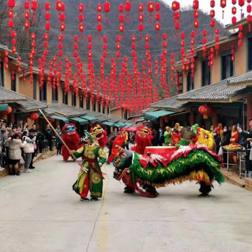 从新春到元宵,栾川竹海野生动物园邀您共享狂欢