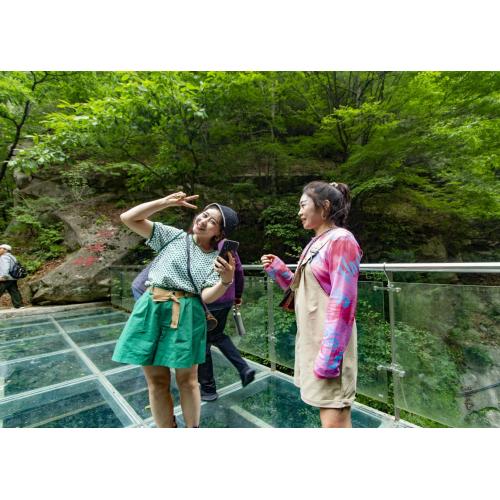 今夏选一方山水,龙峪湾景区让您尽享清凉美意